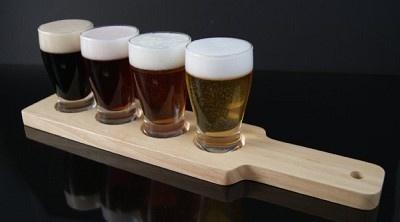 Fake Food Beer Flight Paddle