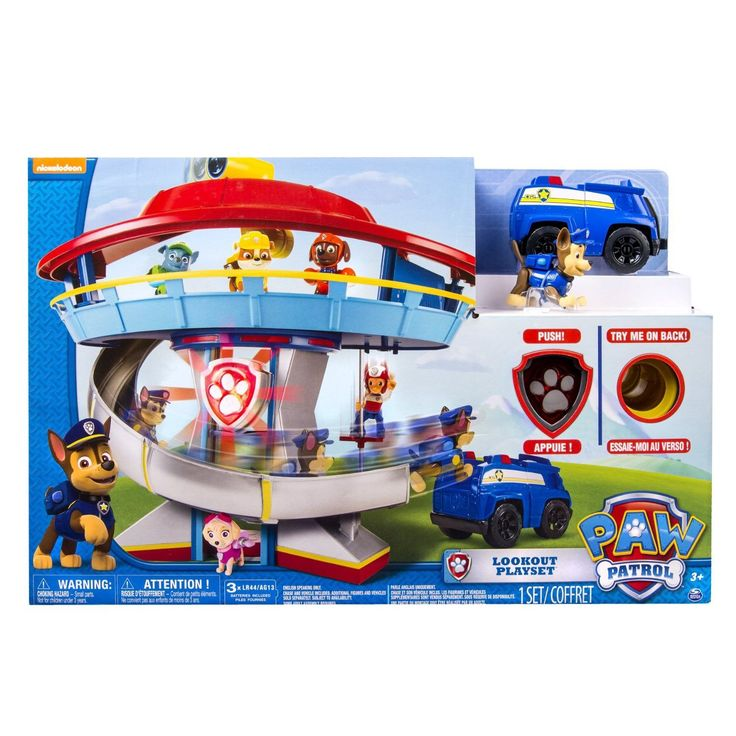 Nickelodeon Paw Patrol Look-Out Playset