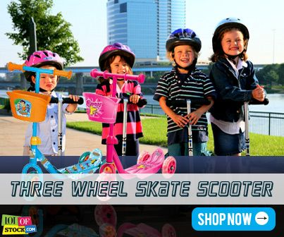 """Skate Scooter- Kids Appetizer!...Visit """"http://goo.gl/5nzYYy""""..For every sign up receive Rs.100,000 worth Genie Coupons  only from """"http://goo.gl/wCmsW5""""..."""