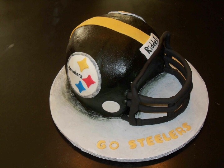 Pin Pittsburgh Steelers Edible Cake Image Party Decorating