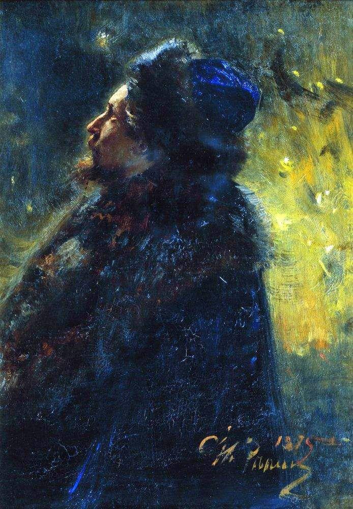 "Ilya Repin, artist, ""Study for Sadko"""