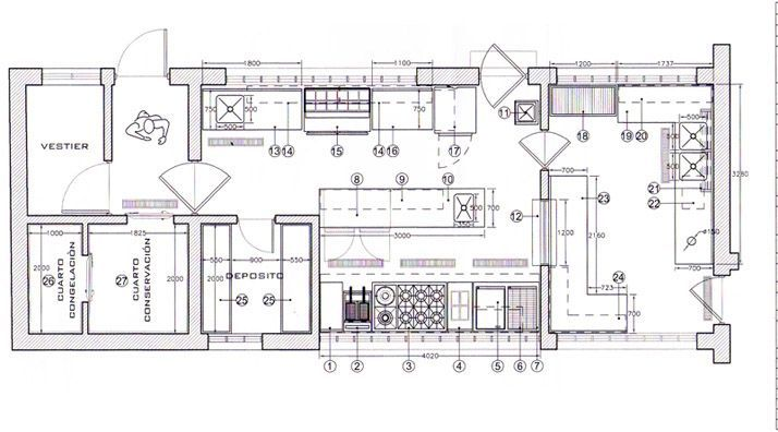 Image Result For Planos De Cocinas De Restaurantes 3d Planos De