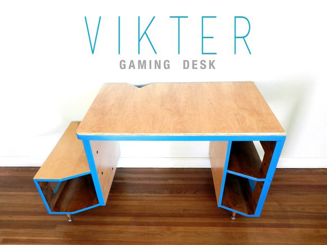 The VIKTER Gaming Desk - A solution that caters to the needs of a maturing gaming market. Designed by gamers. Built to last!  *********Kickstarter launched!*********