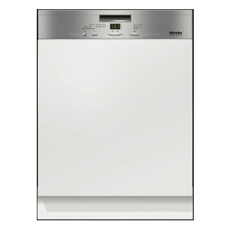 Miele G4920SCICLST The Meile G4920SCICLST Built-in semi integrated dishwasher allows you to clean large amounts of kitchenware and dinnerware all in one go with its 14 place setting capacity. With its 5 washing programm http://www.MightGet.com/may-2017-1/miele-g4920sciclst.asp