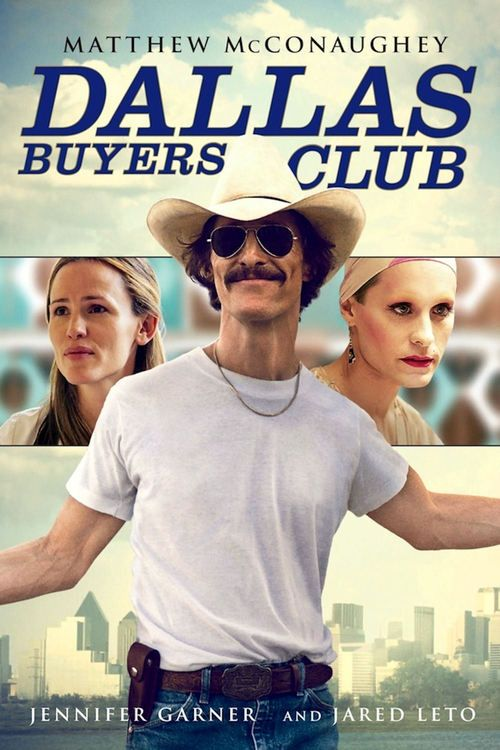 Dallas Buyers Club - movie poster