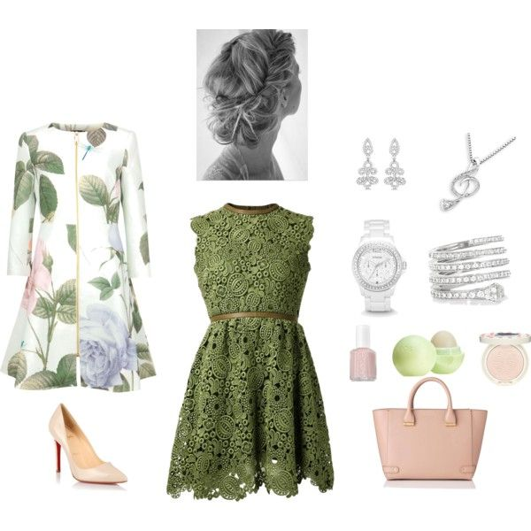 Сложная Романтика by szabello on Polyvore featuring мода, Valentino, Ted Baker, Christian Louboutin, L.K.Bennett, Gucci, Allurez, MaBelle, FOSSIL and Paul & Joe