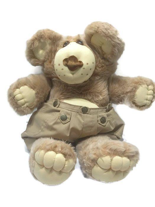 FURSKINS 1983 1984 Xavier Roberts Stuffed Plush Teddy Bear with Shorts Vintage #Furskins