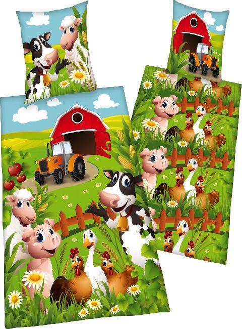 Les 25 meilleures id es de la cat gorie tracteur chambre for Housse de couette animaux