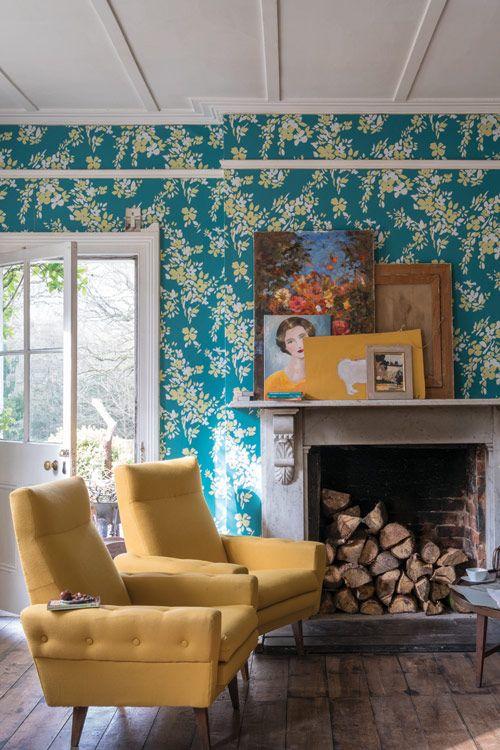 137 besten farrow ball tapeten bilder auf pinterest blumentapeten farrow ball und malen. Black Bedroom Furniture Sets. Home Design Ideas