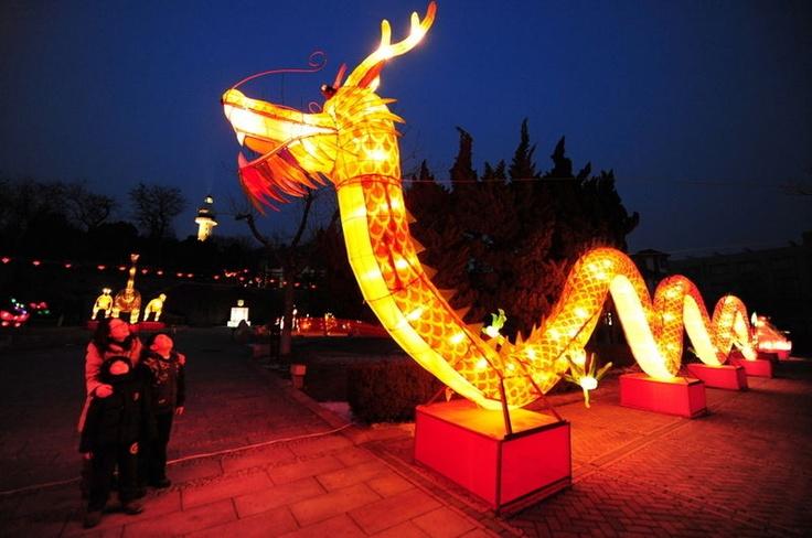 Xinbei city. Lantaarnfestival