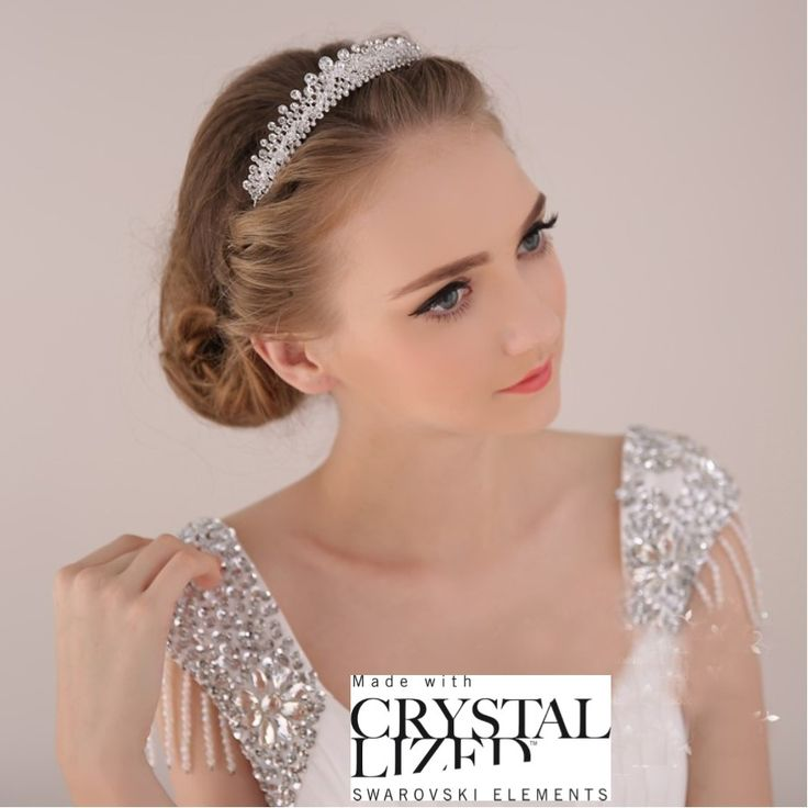 47 best headband tiare diademe mariage images on pinterest - Coiffure avec headband ...