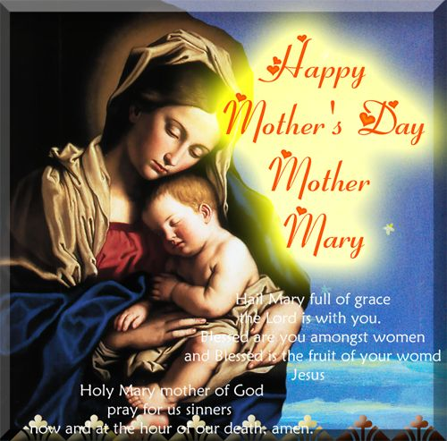 Image result for Mother's Day Virgin Mary