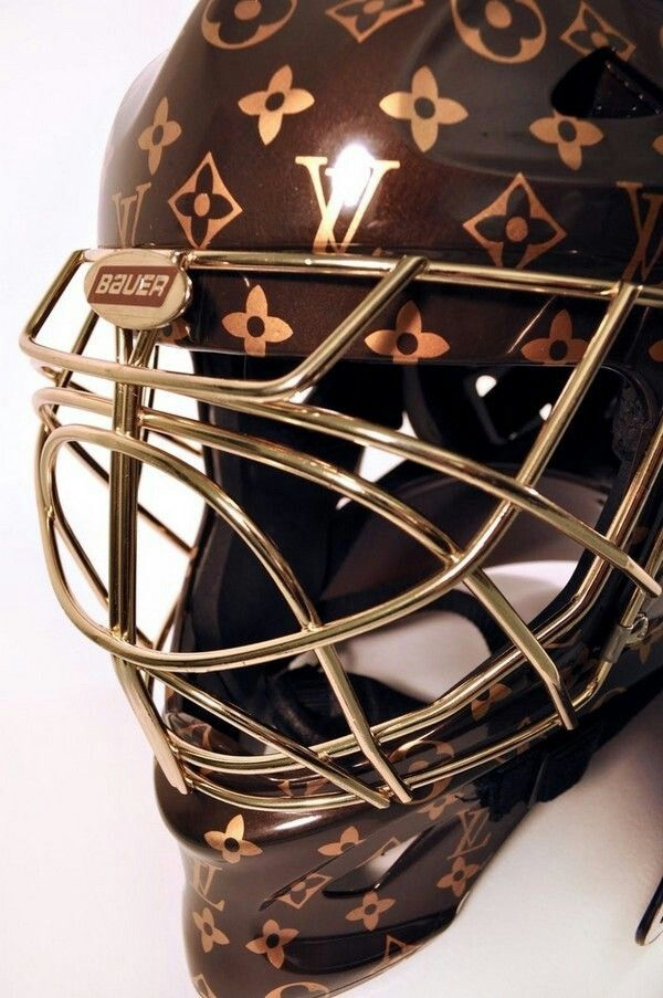 Goalie Mask Vuitton※variety Pinterest Goalie Mask
