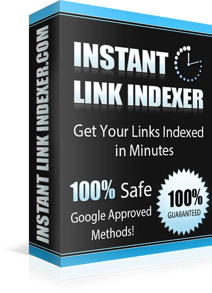 Fast Google Website Indexing!  Get Your Websites Indexed in Google in mere Minutes absolutely GUARANTEED!  InstantLinkIndexer.com service GUARANTEES Google Website Indexing at about 70% - 80% rate.  Depending on the websites quality it can go as high as 95%! And that's not all!  The best part is it GUARANTEES about 40% - 50% Indexing rate within the first 10-30 minutes!