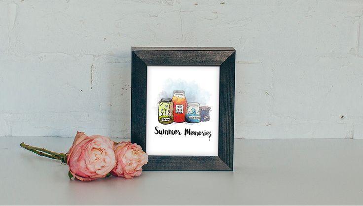 Summer Memories on Behance