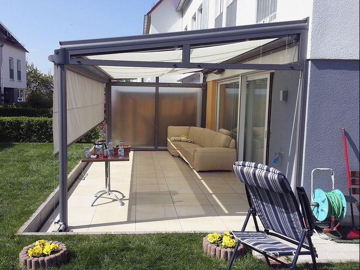 Die besten 25+ Glasüberdachung Ideen auf Pinterest - auswahl materialien terrassenuberdachung