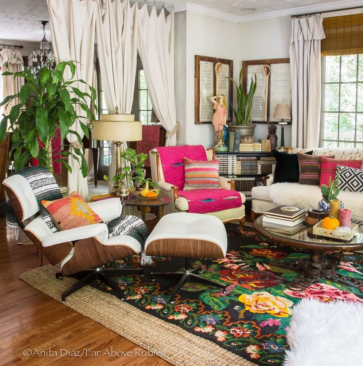 Eclectic Boho Decor - Home Decorating Ideas