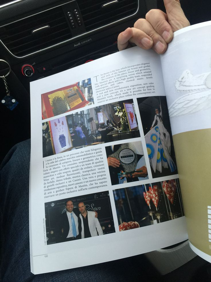 Maxtin @ The Excellence ( Luxury Lifestyle Magazine )