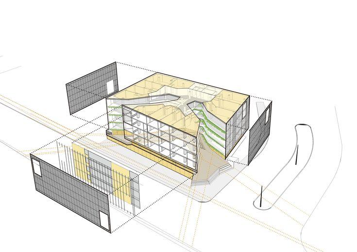 Galería de Edificio Halcón / TEC - Taller EC - 14