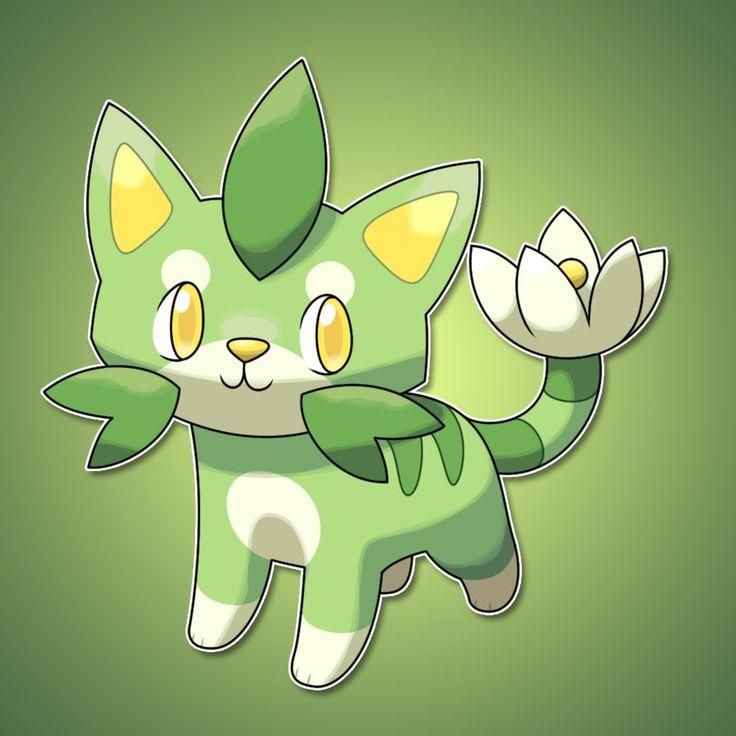 how to draw grass pokemon