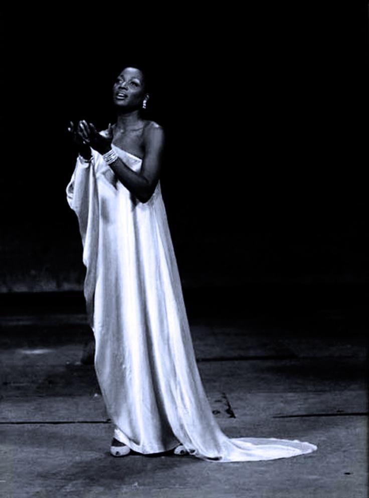 "American soprano, Wilhelmenia Wiggins Fernandez, featured singing the aria ""Ebben? Ne andrò lontana"" from Alfredo Catalani's opera 'La Wally' in th…"