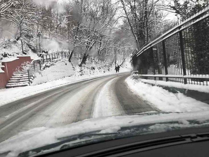 Macedonia under snow, temperatures below zero