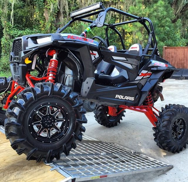 THE NEW RZR 1000 CUSTOMIZED & LIFTED! I LOVE THIS ONE!