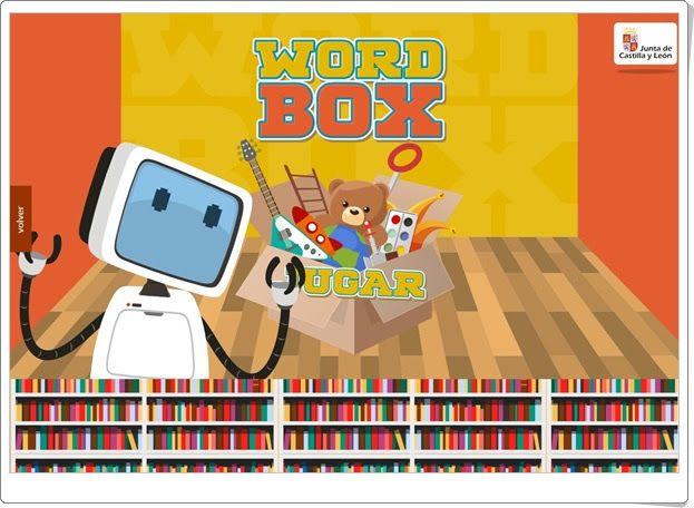 """Vacaciones de Verano de Primaria: """"Word Box"""" (Vocabulario de inglés)"""
