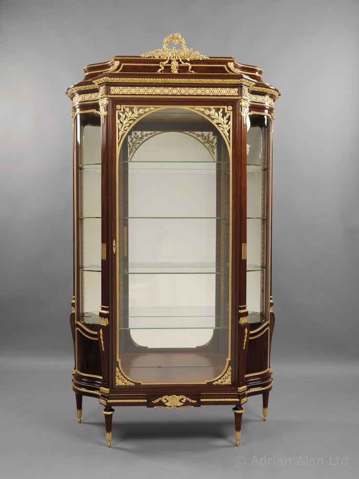 a very fine antique louis xvi style gilt bronze mounted. Black Bedroom Furniture Sets. Home Design Ideas