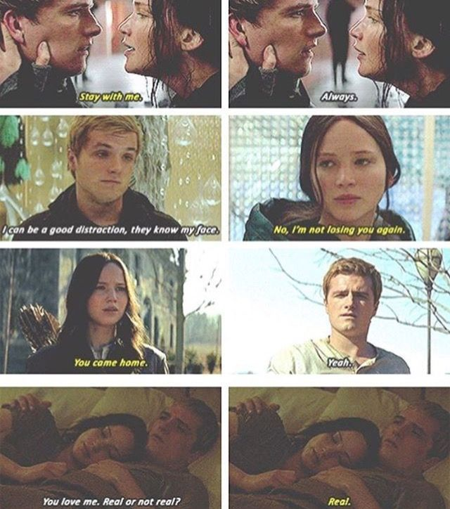#im team peeta spoiler Katniss peeta