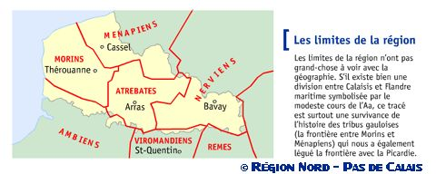Géographie physique de la région Nord – Pas de Calais – Sophie Kalinowski