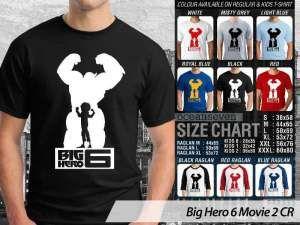 Kaos Big Hero 6 Movie, Kaos Couple Family Big Hero 6 Movie, Kaos Film Big Hero 6 Movie Terbaru, Kaos Film Big Hero 6 Movie Anak-anak