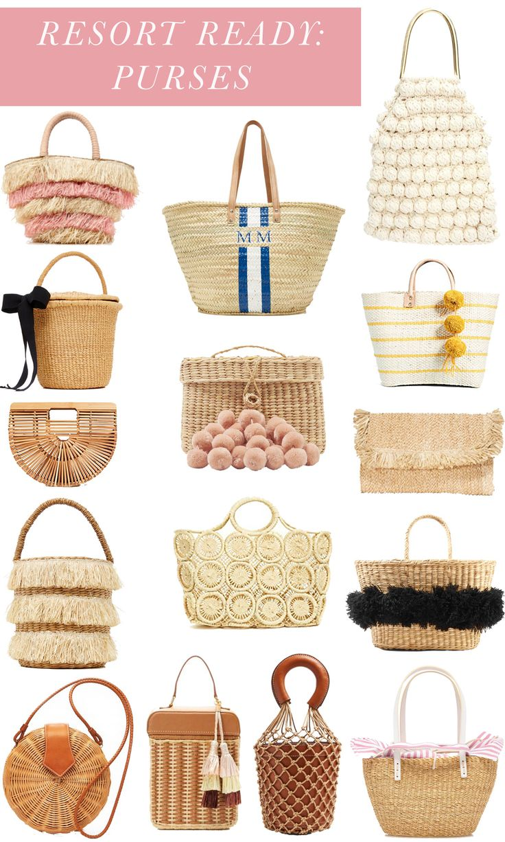 Resort Ready: Purses + the best purses to buy for a spring or summer vacation
