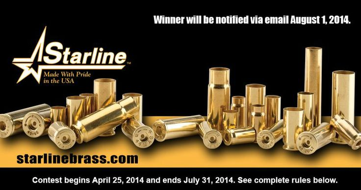 Enter to win a Dillon 550 reloading press from Starline Brass