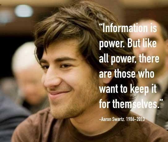 ~ Aaron Swartz http://www.thextraordinary.org/aaron-swartz