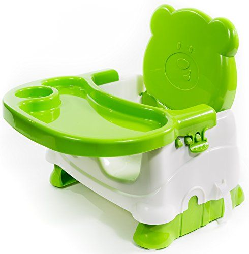 Booster Seat for Dining- Toddlers Portable High Chair Booster Seat -Best Booster Seats for Eating with 3-Point Harness Secures Baby Tightly While You Feed -Dishwasher Safe Tray, Built-in Cup Holder - Silverflye BOOSTER SEAT: WE MAKE FEEDING TIME AN ENJOYABLE TIME! Is your baby refusing to sit at table to eat? Would you like to make feeding a simple and enjoyable time for the both of you? With the Silverflye Booster Seat, now you can! Engineered to outlast competing booster seats, our feeding…