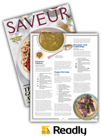 Suggestion about Saveur October 2015 page 66