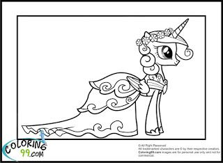 Princess Cadence Coloring Pages | Coloring99.com