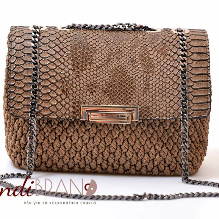 crochet bag...chanel style...