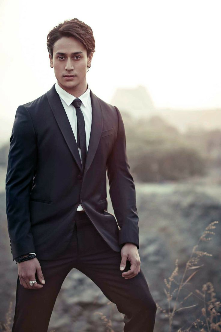 Rocking a suit in this seaside photoshoot - Tiger Shroff