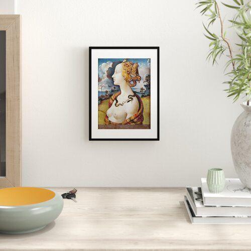 Wandbild Portrat Der Simonetta Vespucci Von Piero Di Cosimo