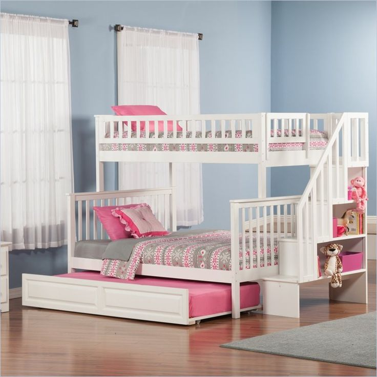 1000 Ideas About White Bunk Beds On Pinterest Bunk Bed