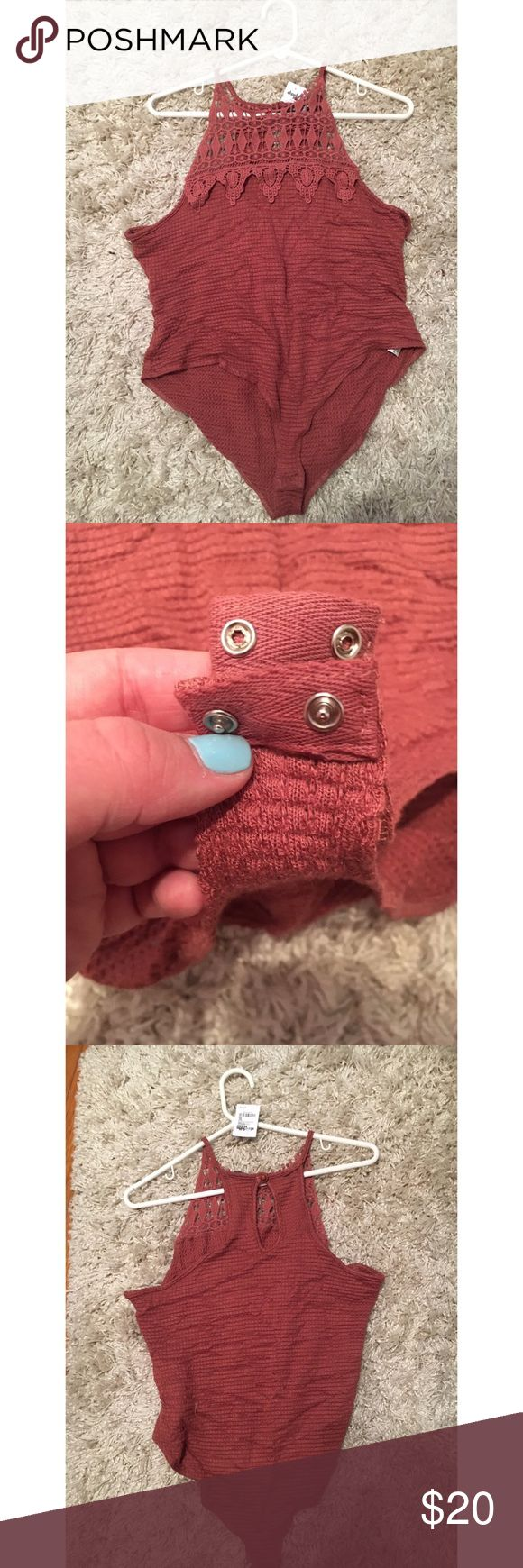 Charlotte Russe Bodysuit Beautiful Charlotte Russe body suit. Snaps at the crotch with reliable snaps. Was recently bought at the store. It is brand new with tags. Size: XL Other