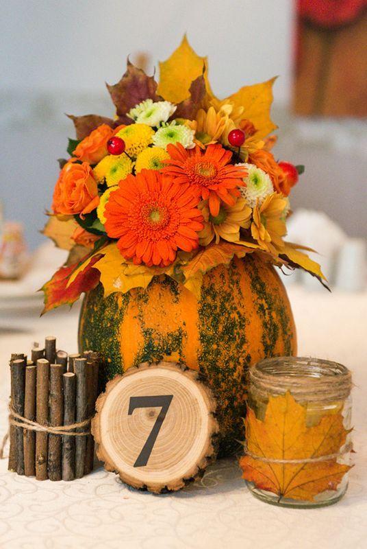 Best pumpkin wedding centerpieces ideas on pinterest