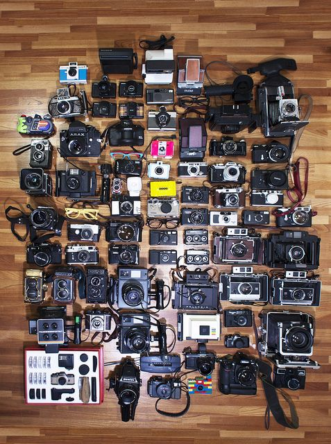 Photos, Take Pictures, Collection Display, Vintage Cameras, Cameras Art, Cameras Collection, Things, Photography, Old Cameras