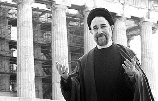 Mohamed Hatami at the Acropolis