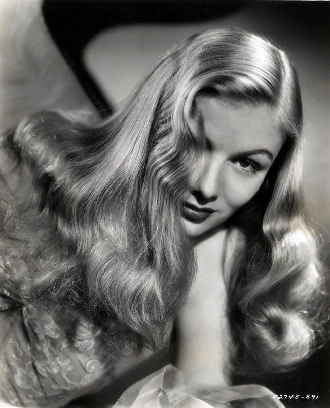 Miss Veronica Lake 2, with the eyepatch style which was as famous then as The Jennifer A was during 'Friends'.