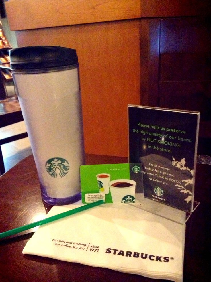 Asian Dolce Latte with Tumbler Starbucks