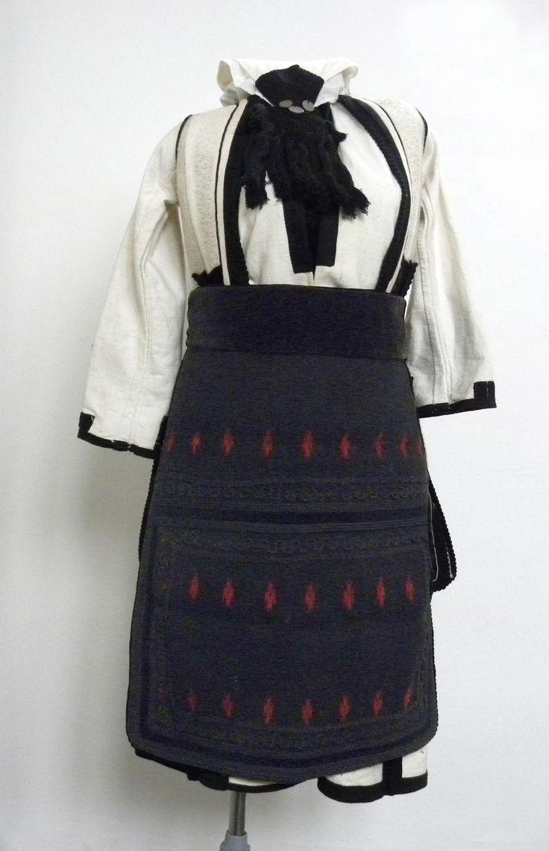 Women folk Costume from Bitola region (upper Bitola villages), dating from 19 century.