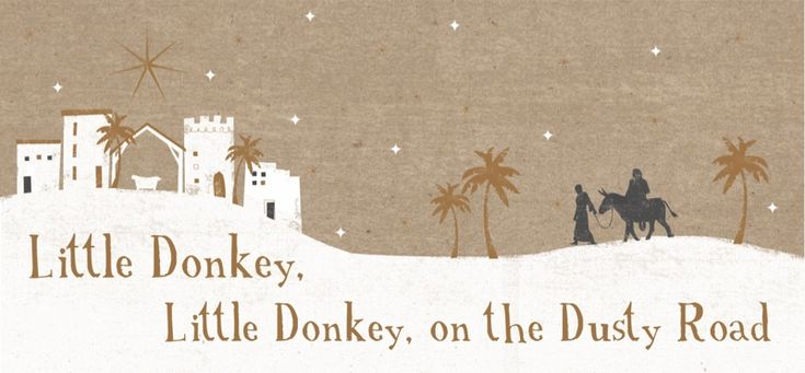 The Dusty Road Tearfund Charity Christmas Cards
